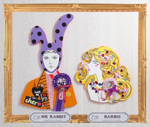 Fabulous Faces Mr Rabbit & Barbie