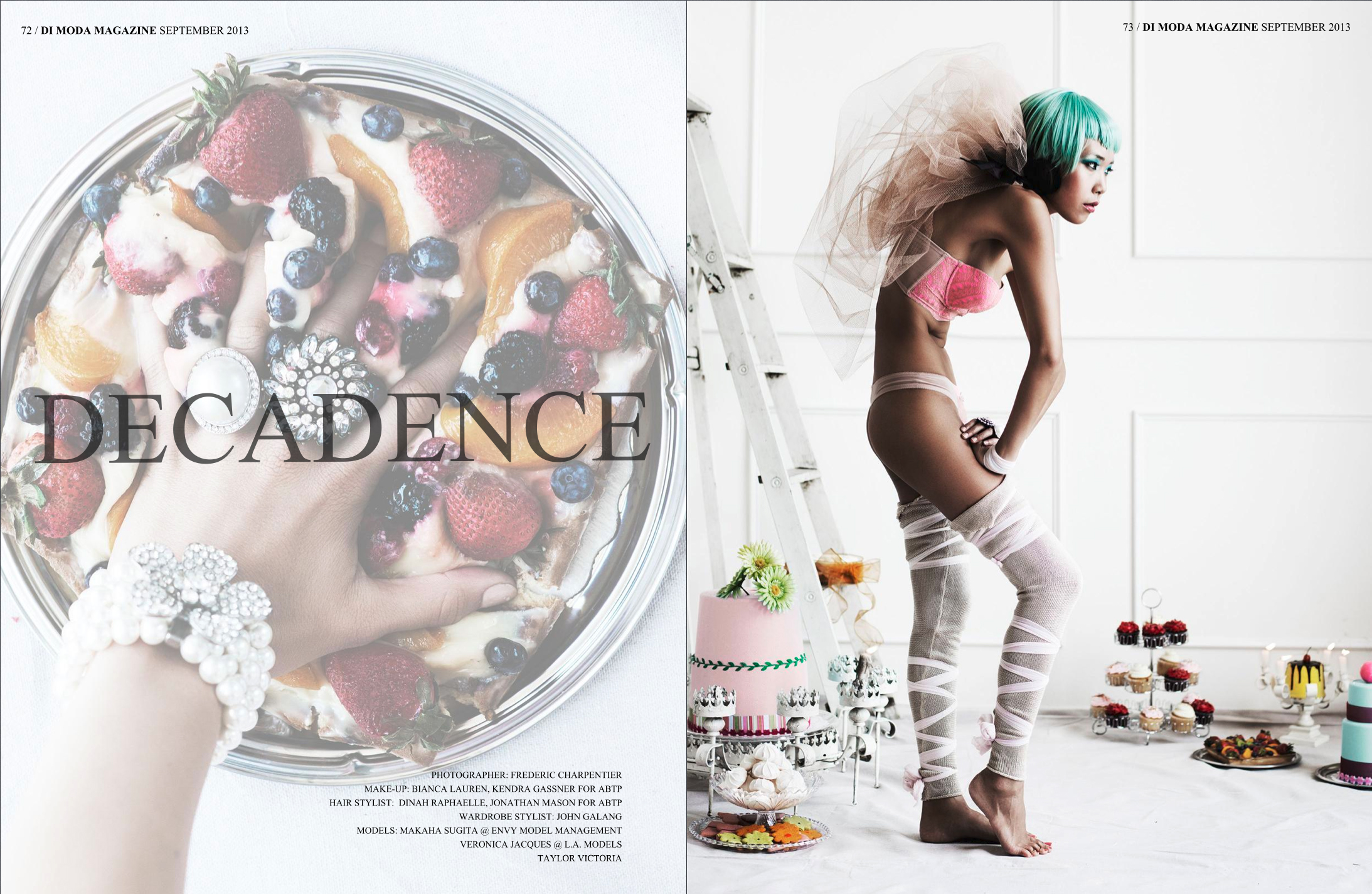 Decadence opening pages